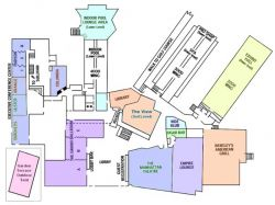 Hudson Valley Resort & Spa - Floor Plan