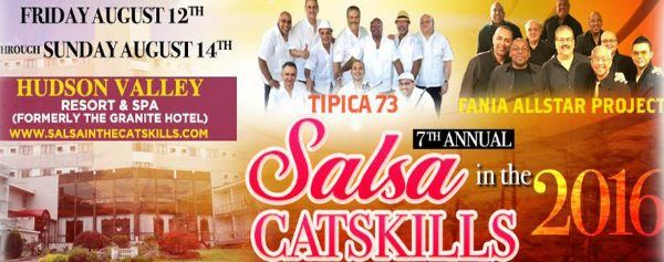 Salsa Dance Weekend in the Catskills
